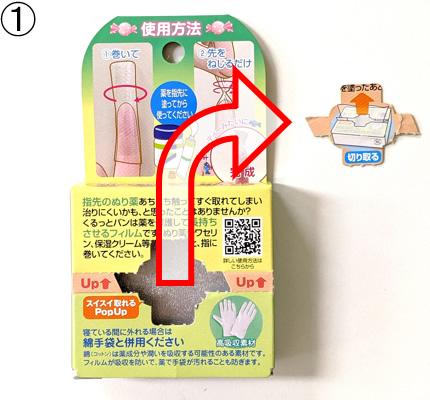 箱の開け方【1】